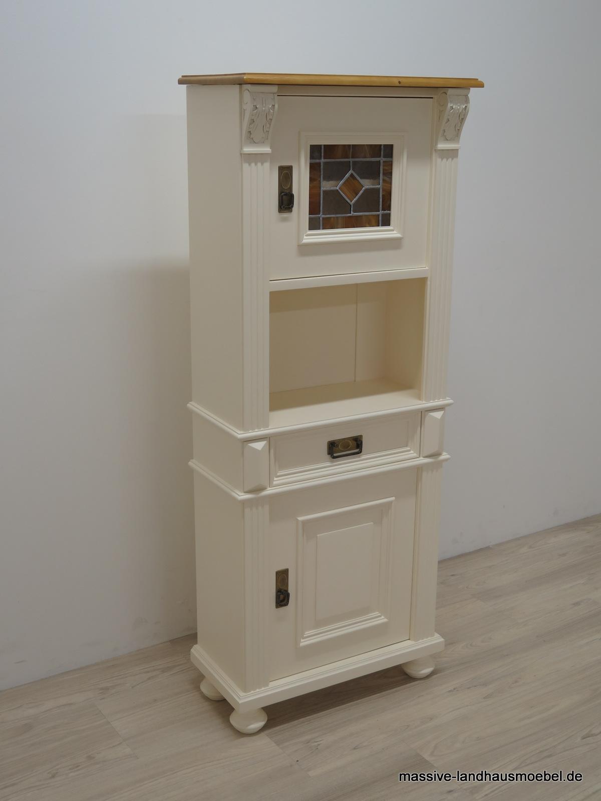massive landhausm bel 1463 vertiko. Black Bedroom Furniture Sets. Home Design Ideas