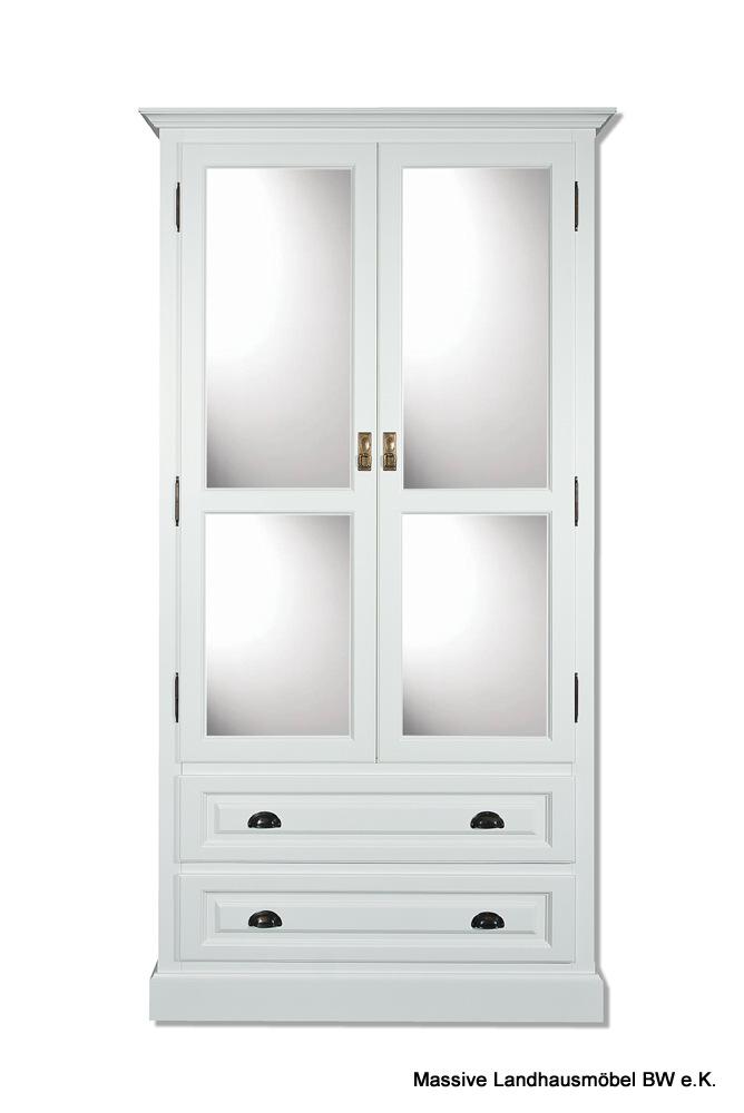 massive landhausm bel spiegelschrank kleiderschrank m bel k ln. Black Bedroom Furniture Sets. Home Design Ideas