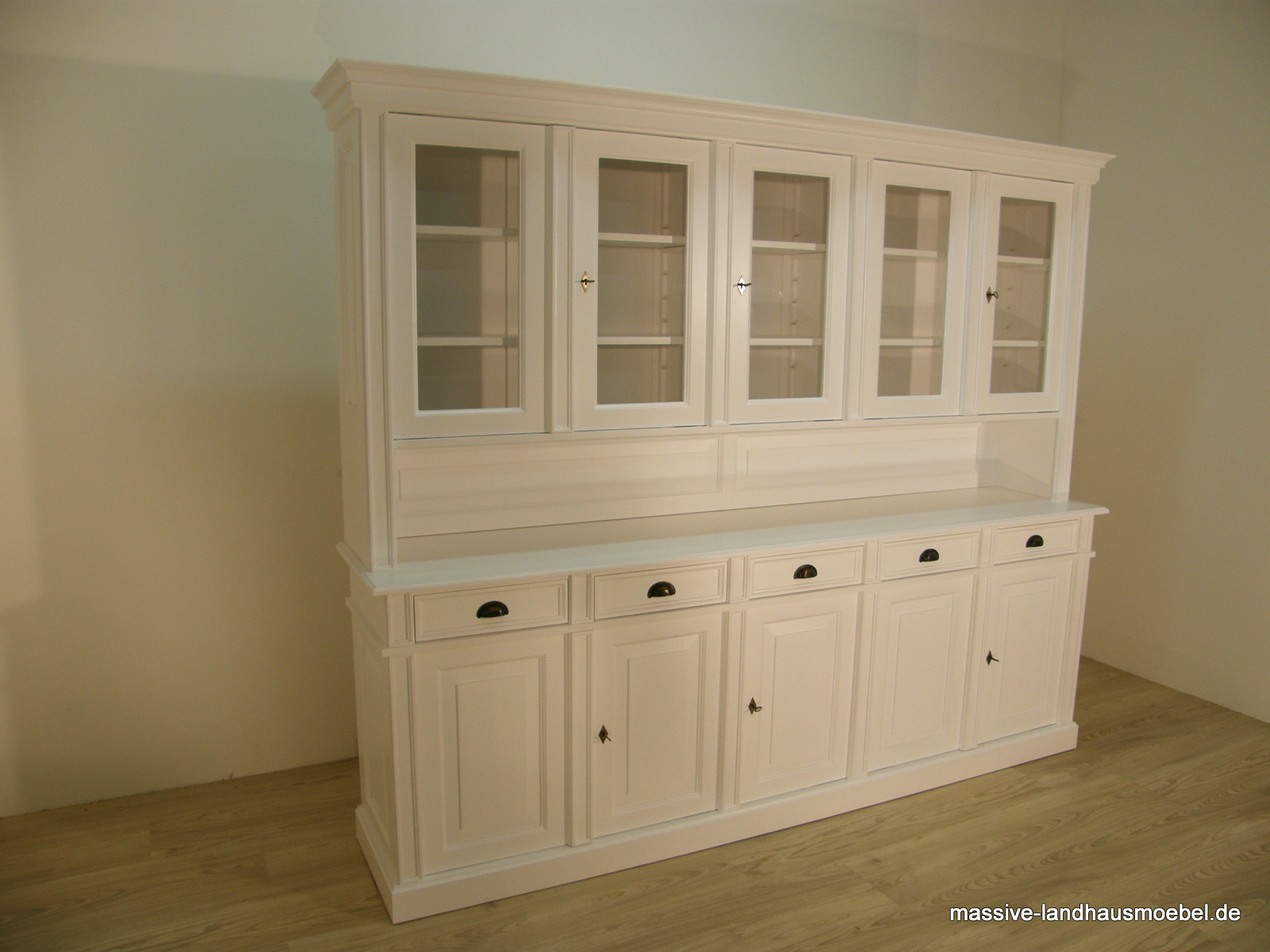 massive landhausm bel 9113 buffet 5t deluxe modern. Black Bedroom Furniture Sets. Home Design Ideas