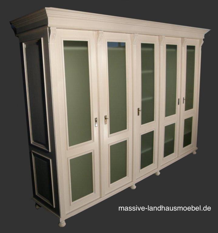 massive landhausm bel 1240 schrank. Black Bedroom Furniture Sets. Home Design Ideas