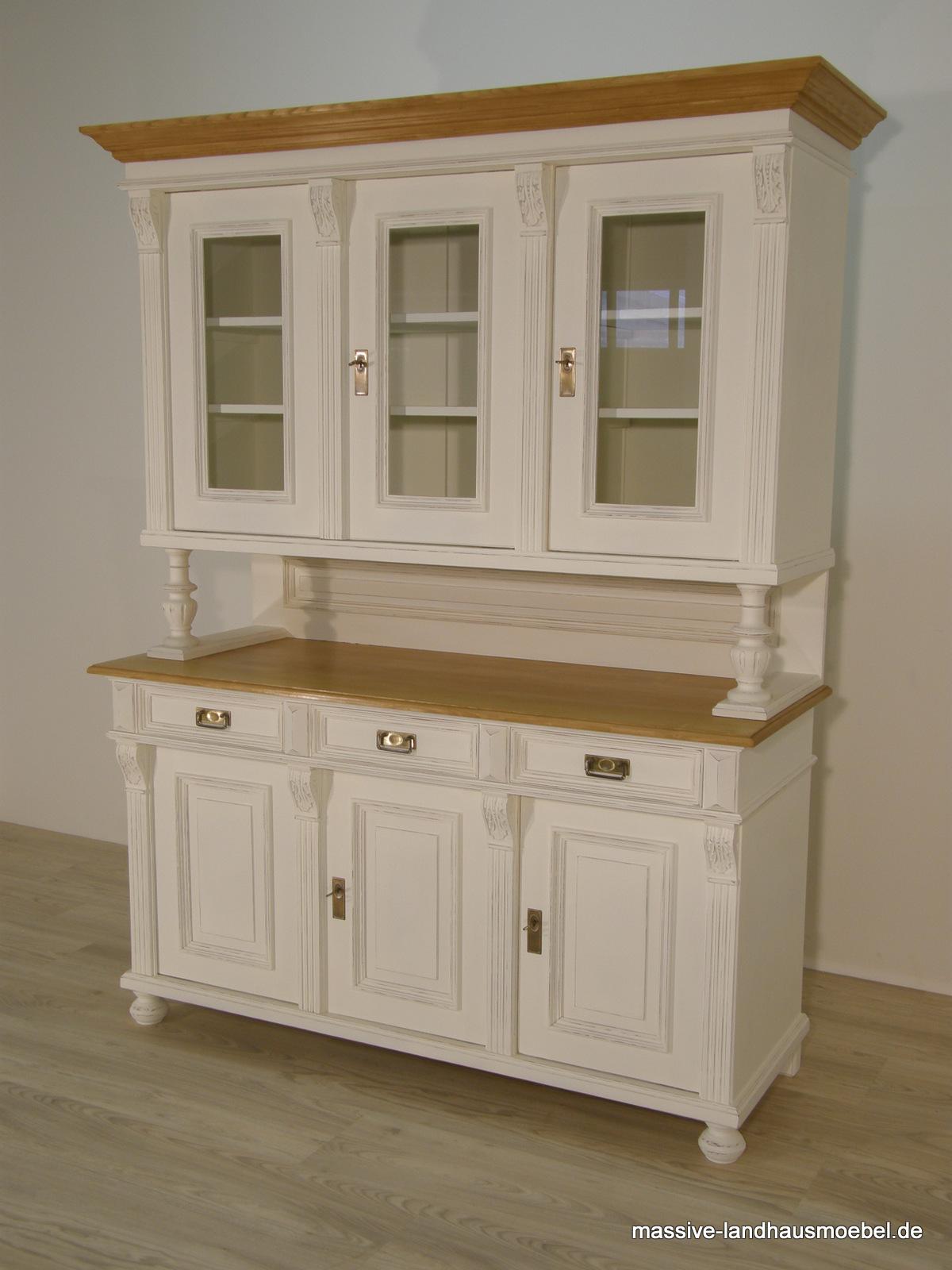 massive landhausm bel 1121 buffet 3t deluxe. Black Bedroom Furniture Sets. Home Design Ideas