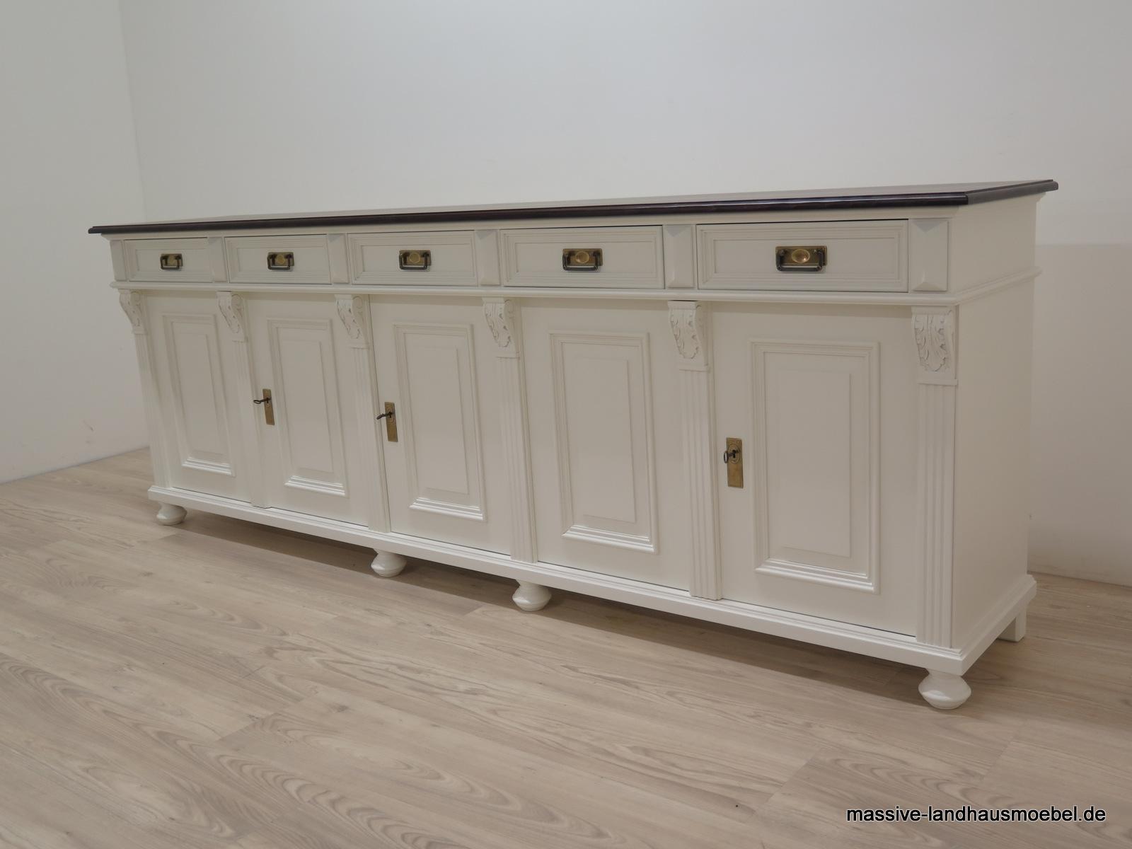 massive landhausm bel 1034a anrichte 5t deluxe. Black Bedroom Furniture Sets. Home Design Ideas