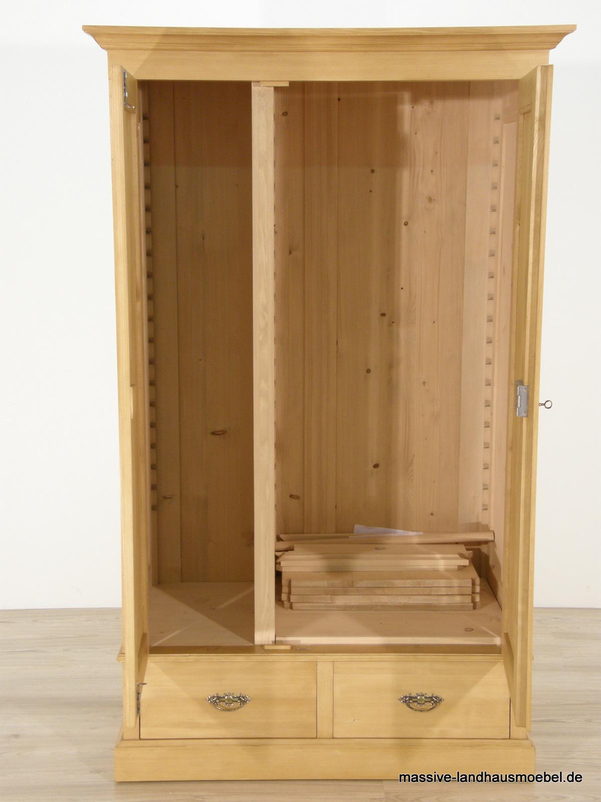 massive landhausm bel 213 schrank exclusive. Black Bedroom Furniture Sets. Home Design Ideas
