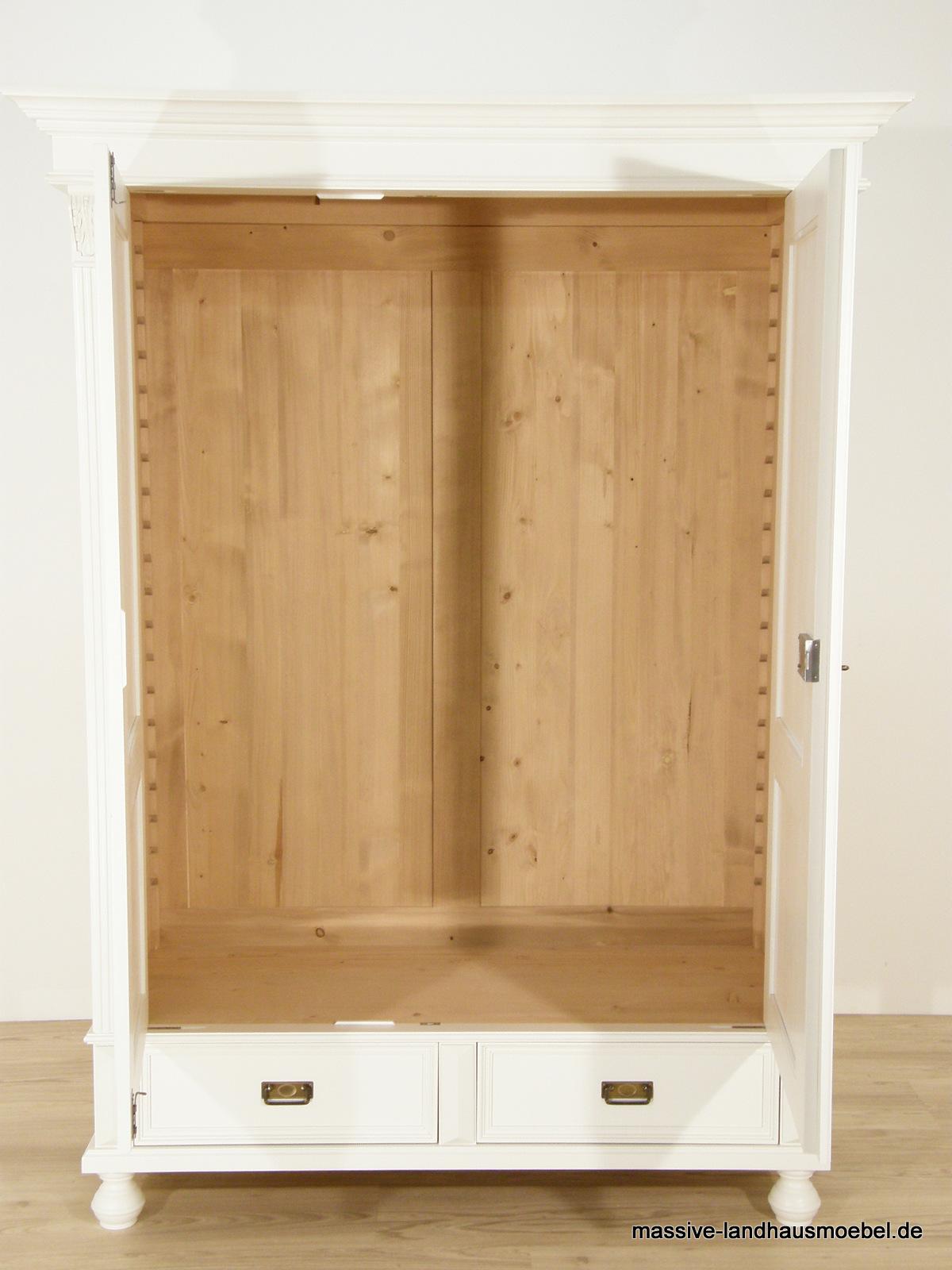 massive landhausm bel 1216 schrank deluxe. Black Bedroom Furniture Sets. Home Design Ideas