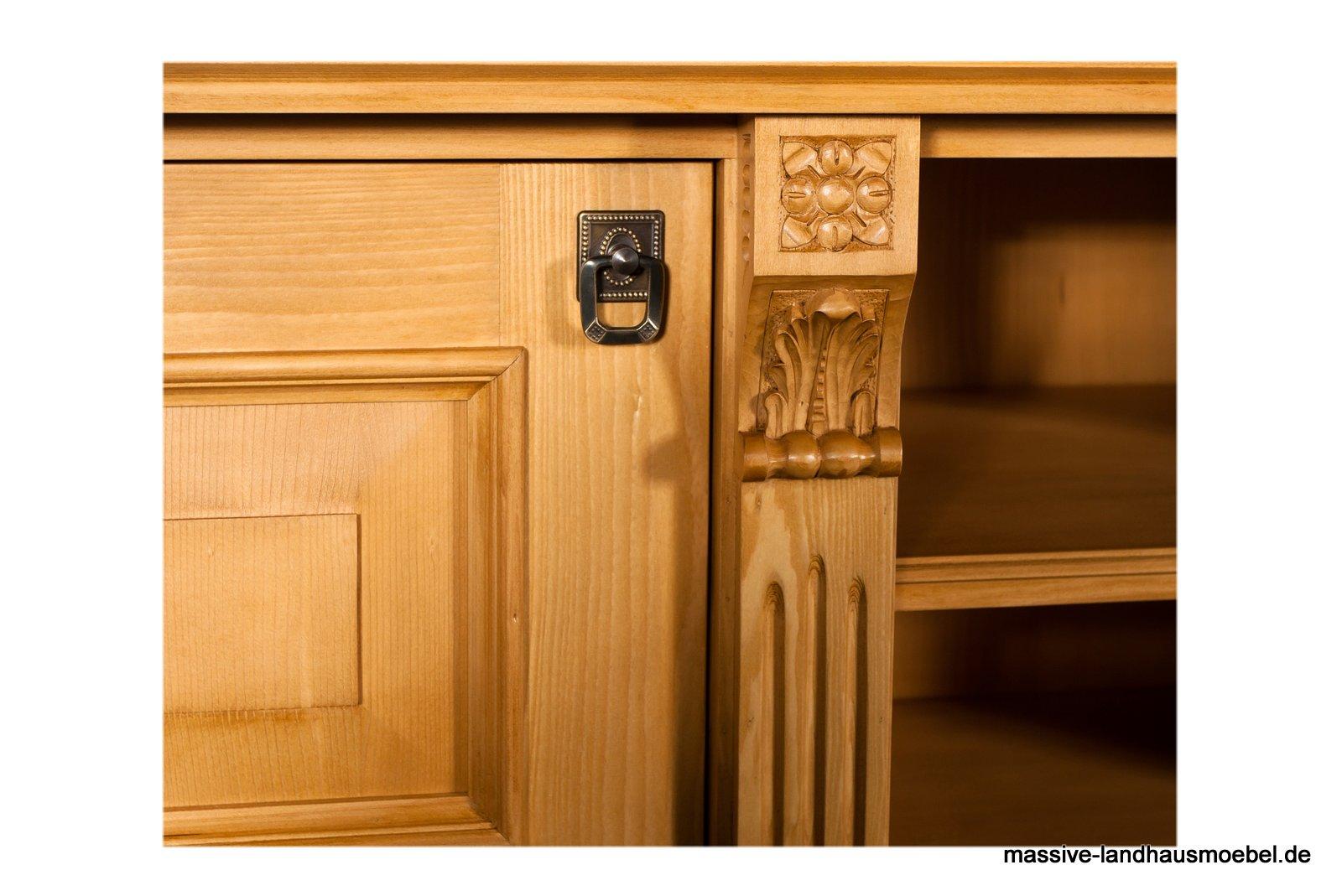 massive landhausm bel 1459 vertiko. Black Bedroom Furniture Sets. Home Design Ideas