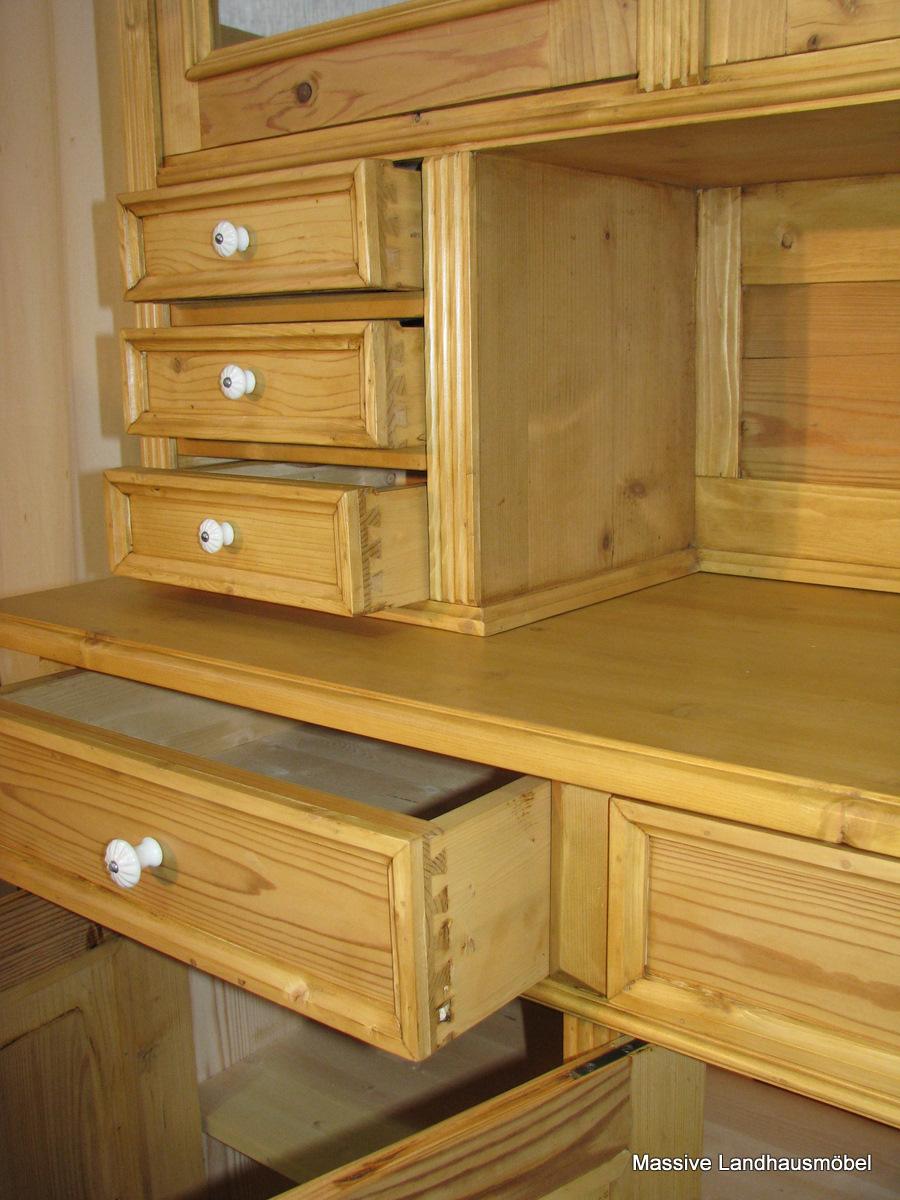 massive landhausm bel buffet weichholz landhausm bel. Black Bedroom Furniture Sets. Home Design Ideas