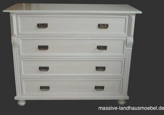 massive landhausm bel 5086 kommode. Black Bedroom Furniture Sets. Home Design Ideas