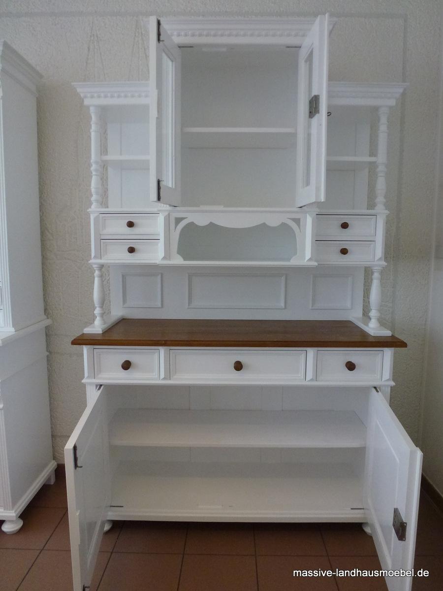 massive landhausm bel 5102 buffet. Black Bedroom Furniture Sets. Home Design Ideas