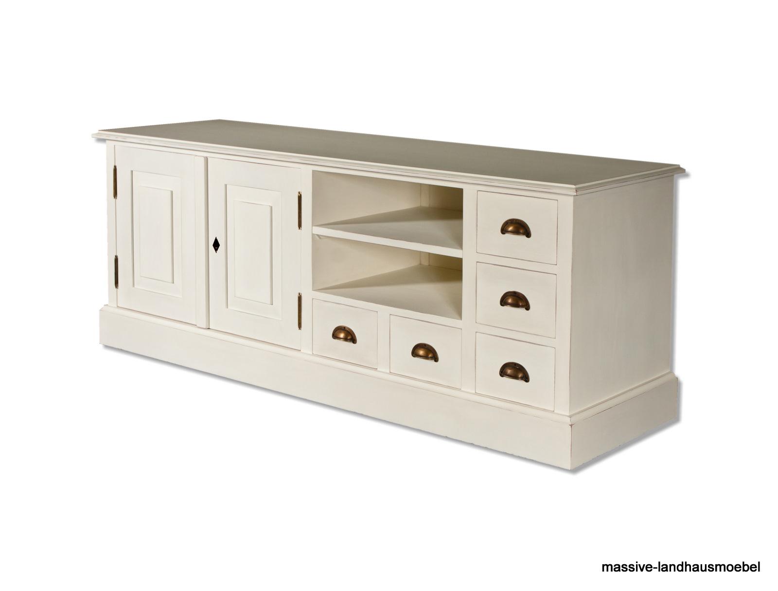massive landhausm bel 0003 tv anrichte. Black Bedroom Furniture Sets. Home Design Ideas