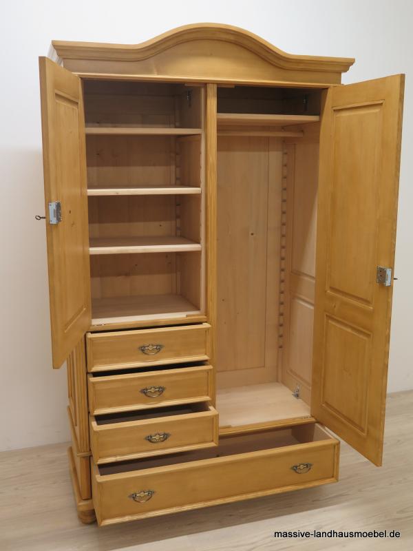 massive landhausm bel 1209 schrank classic. Black Bedroom Furniture Sets. Home Design Ideas