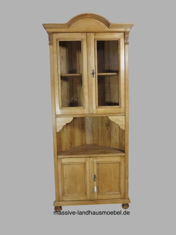 5172 eckscrank classic massive landhausm bel ebay. Black Bedroom Furniture Sets. Home Design Ideas