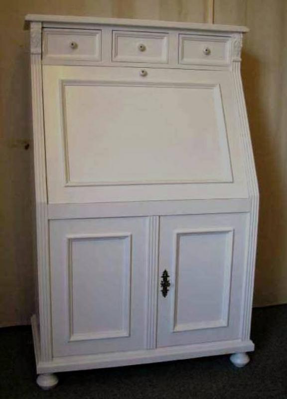 massive landhausm bel 5408 schreibsekret r classic. Black Bedroom Furniture Sets. Home Design Ideas
